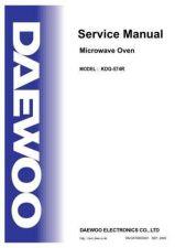 Buy Daewoo. SM_KOR-6105_(E). Manual by download Mauritron #213755