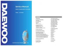 Buy Daewoo. DV-115 A4 SVC010707-1. Manual by download Mauritron #212901