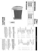 Buy Sony KDF60XS955 Service Manual by download Mauritron #244248
