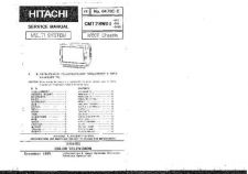 Buy Hitachi CMT28WD1 Service Manual Schematics by download Mauritron #205898