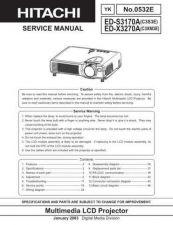 Buy Hitachi EDPJ32 Service Manual by download Mauritron #262072