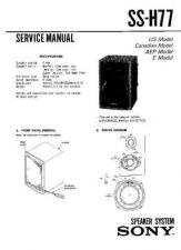 Buy Sony SS-H4900 Service Manual. by download Mauritron #244818