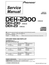 Buy Pioneer C2629 Manual by download Mauritron #227384