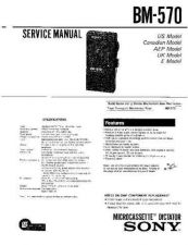 Buy Sony BM-570 Manual by download Mauritron #228936