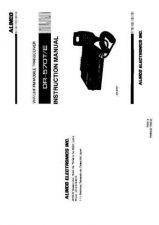 Buy ALINCO DR610SER Service Information by download #110394