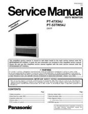 Buy Panasonic pv20df64_27df64-mke0403601c1 Service Manual by download Mauritron #268424