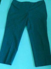 Buy Women's Loft Brand Gray Pants Capri size 8 Petittes