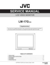 Buy JVC LM-17G -EA Service Manual Schematic Circuit. by download Mauritron #271809