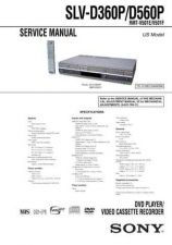 Buy Sony SLV-D350PD550P Technical Manual. by download Mauritron #243947