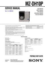 Buy Sony MZ-B50 Service Manual. by download Mauritron #243069