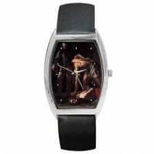 Buy Beheading of Saint John the Baptist Caravaggio Art Wrist Watch
