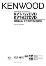 Buy Kenwood KVT-627DVD Operating Guide by download Mauritron #222880