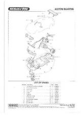 Buy Scalextrix No.389 Aston Martin Service Sheets by download Mauritron #206541