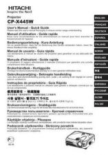 Buy Hitachi CPSX5600W Manual by download Mauritron #224722