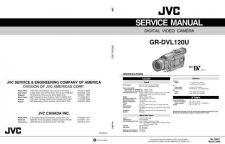 Buy JVC GR-DVL120U Service Manual by download Mauritron #273223