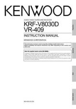 Buy Kenwood VR-409 Operating Guide by download Mauritron #219733