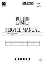 Buy AIWA XR-MSK3 HRJ(S), HRJ7(S) by download #100338