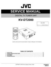 Buy JVC KV-DT2000 Service Manual Schematic Circuit. by download Mauritron #271733