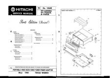 Buy Hitachi VTTU70A Service Manual by download Mauritron #265658
