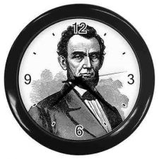 Buy President Abraham Lincoln Art Wall Clock