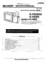 Buy Sharp VLH460H-005 Service Manual by download Mauritron #210891