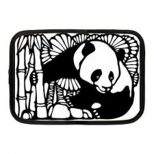 Buy Panda Bear Art Neoprene 10 Inch Netbook Case