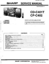 Buy Sharp CDC401T-CPC402 Service Manual by download Mauritron #208482