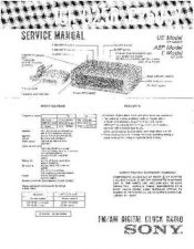 Buy Sony ICF-C250SY Service Manual. by download Mauritron #241540