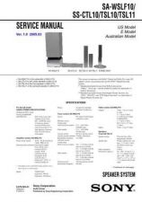 Buy Sony SA-WMSP68 Technical Manual. by download Mauritron #243792