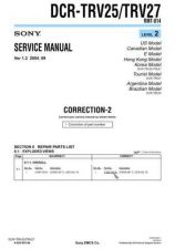 Buy Sony DCR-TRV8 Service Manual by download Mauritron #239914