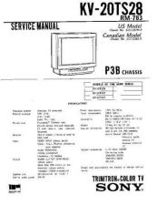 Buy Sony KV-20TS28 Manual by download Mauritron #229532