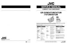 Buy JVC GR-SXM247-347UM-747UM-947UM Service Manual Schematic Circuit. by download Mauritr