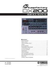 Buy Yamaha DX200F Manual by download Mauritron #256372