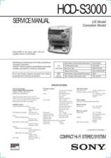 Buy Sony HCD-S3000 Service Manual by download Mauritron #241272
