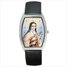 Buy Saint St Therese Of Lisieux Catholic Unisex Wrist Watch