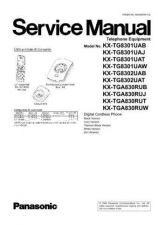 Buy Panasonic KX-TG8321NLB KX-TG8322NLB KX-TGA830EXB by download Mauritron #267489