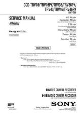Buy Sony CCD-TRV300E RMT-717 Service Manual by download Mauritron #237157