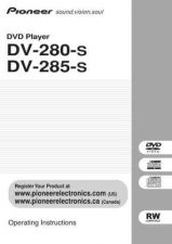 Buy Pioneer 268906933DV285S OperatingInstructions by download Mauritron #223325