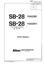 Buy NIKON SB-28 Parts List by download Mauritron #266211