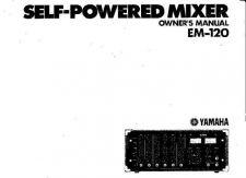 Buy Yamaha EM150 EN Operating Guide by download Mauritron #247833