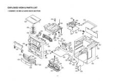 Buy LG GOLDSTAR CD964AX CD964A CIRCUIT Service Information by download #112635