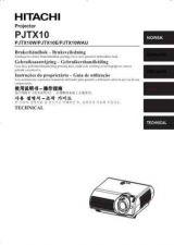 Buy Hitachi PJTX10WAU NL Manual by download Mauritron #225485