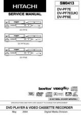 Buy Hitachi DVP323U Service Manual by download Mauritron #261785