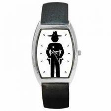 Buy Cowboy Sheriff Deputy Western Country Man Wrist Watch