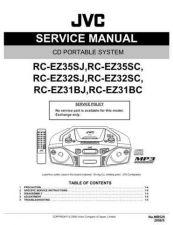 Buy JVC RC-EZ31BJ Service Manual by download Mauritron #272165