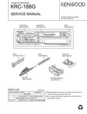 Buy KENWOOD KRC-188 KT4 Technical Information by download #118708