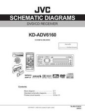 Buy JVC KD-ADV6160 sch Service Manual Schematic Circuit. by download Mauritron #271152