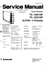 Buy Hitachi TX-28X1DP Service Manual by download Mauritron #264577