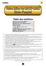 Buy Yamaha VOICEEDITORFORMOTIFRACKF Operating Guide by download Mauritron #250233