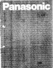 Buy Panasonic NVG2 Operating Guide by download Mauritron #230724